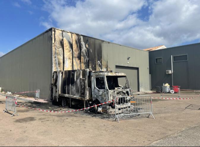Véhicules incendiés à Propriano : la piste criminelle privilégiée