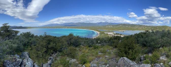 La baie de San Ciprianu (Valerie Truelle)