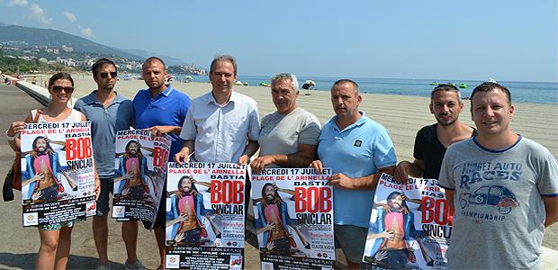L'événement : Bob Sinclar sur la plage de l'Arinella à Bastia