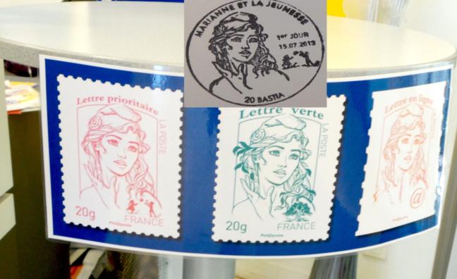 Mariannne des timbres : Avant-première à Bastia