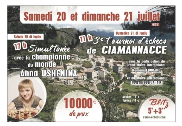 Echecs : Une championne du monde en Corse
