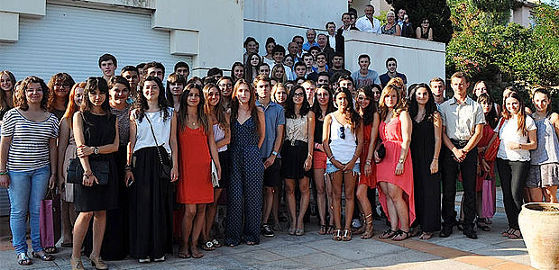 Les meilleurs bacheliers de Corse-du-Sud à la villa Pietri