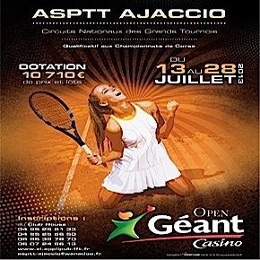 """Open Géant Casino : Des """"perfs"""" malgré la chaleur"""