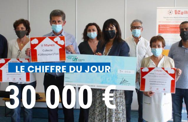 Le chiffre du jour : 30 000€