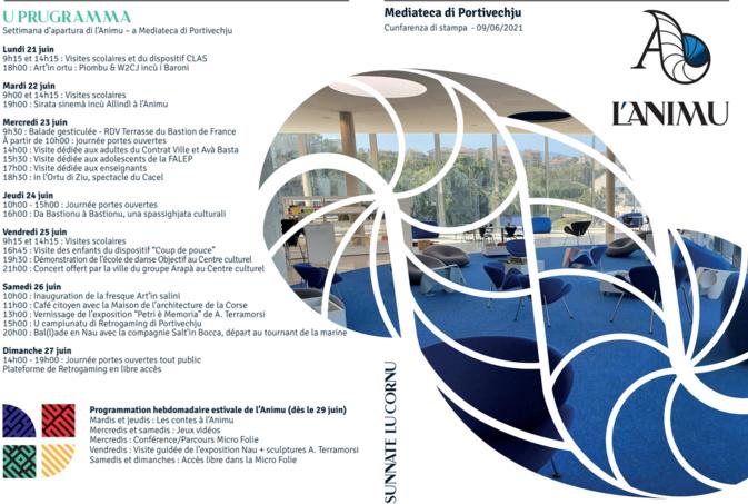 Culture : la Médiathèque de Porto-Vecchio ouvre le 21 juin