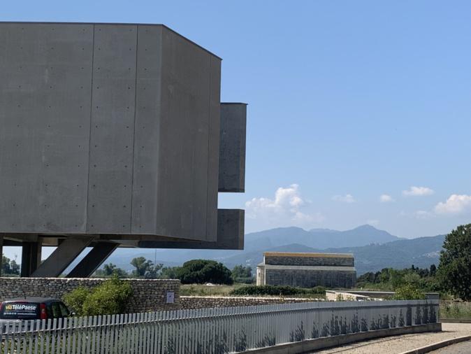 Le musée, tout prés de la basilique de La Canonica