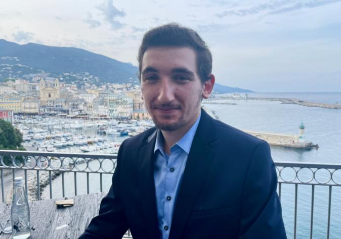 """Jean-Antoine Giacomi, chef de file de la liste """"Corsica Fiera"""" pour les élections territoriales des 20 et 27 juin."""