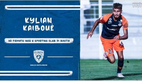 Mercato SCB : Kylian… Kaïboué signe trois ans au club