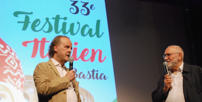 Francesco Bruni est venu à Bastia présenter son poignant Cosa Sarà © LH