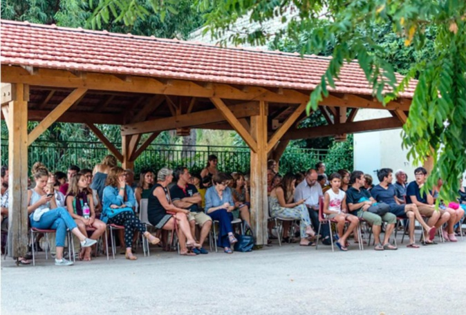 le public au Festival de l'Olmu