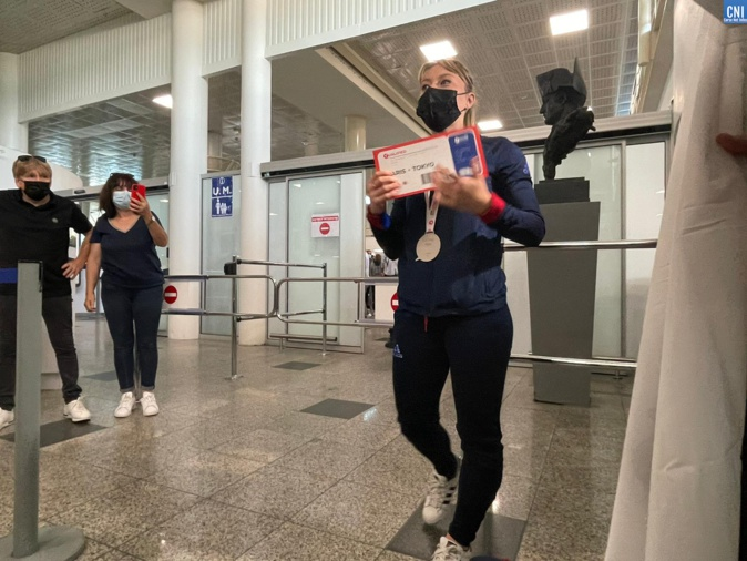 "VIDEO - Alexandra Feracci : ""une reine à Tokyo en 2021"""