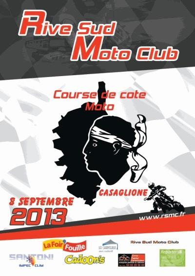 Rive Sud moto relance la course de côte de Casaglione