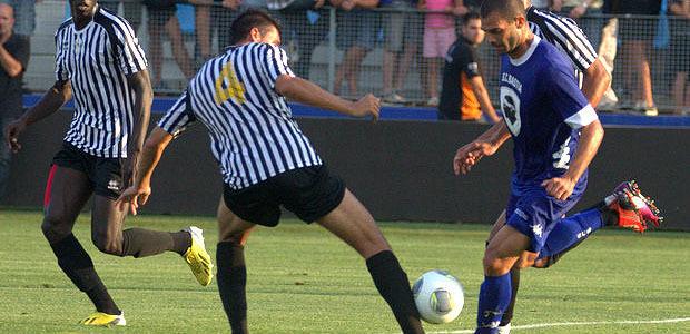 Matches amicaux : Evian : 0 SCB 2, CAB : 3 GFCA :2