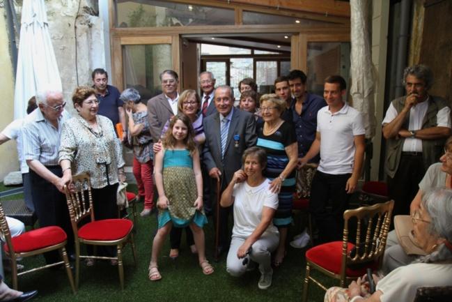 Famille et amis de Pierre Bessière / Photo Marilyne SANTI