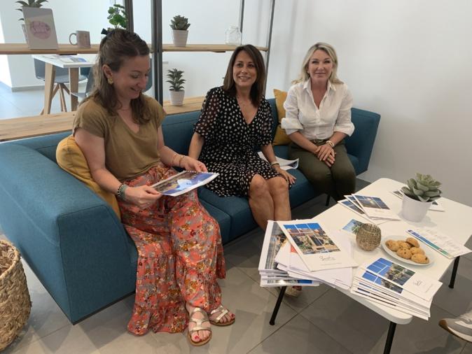Florence Guidini, Véronique Valentini-Calendini et Linda Piperi ont présenté le très riche programme estival 2021