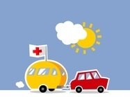 La caravane de la Croix Rouge arrive à Ajaccio !