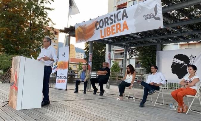 Territoriales:  Corsica Libera exigera de Paris la prise en compte des droits des Corses