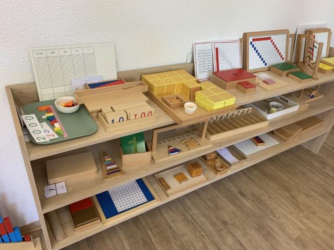 Le matériel pédagogique de la méthode Montessori