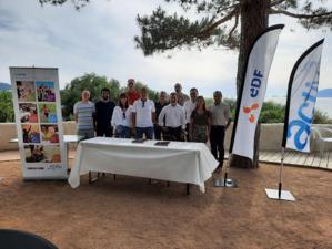 Restonica Trail et EDF : une convention pour partager les valeurs du sport