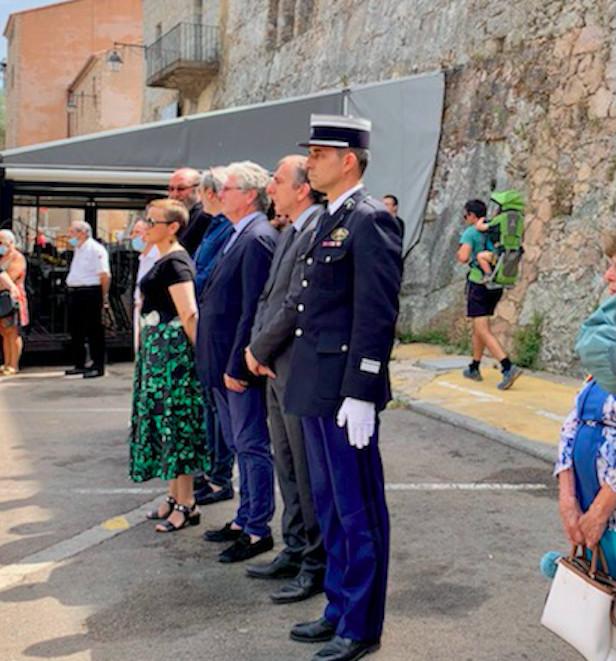 La commemoration à Porto-Vecchio