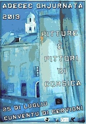 """Ghjurnata di l'Adecec in Cervioni : """"Pitture è pittori di Corsica"""""""