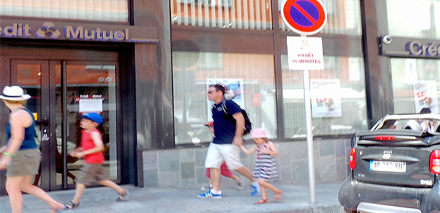Le crédit mutuel de Bastia fermé jusqu'à lundi en signe de protestation.