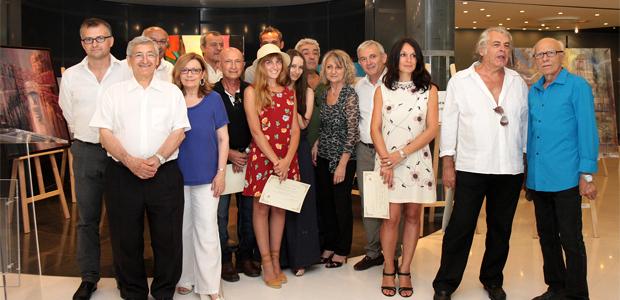 Les lauréats et les membres du jury