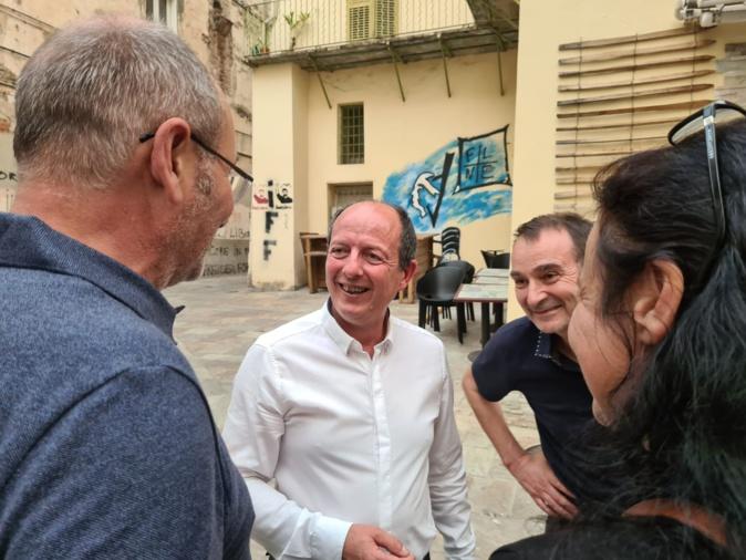 VIDEO - Territoriales 2021 en Corse : La réaction de Paul-Félix Benedetti