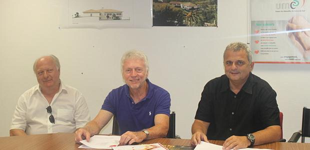 Michel Combaut, Jean Pierre Fabiani, Dominique Andreozzi
