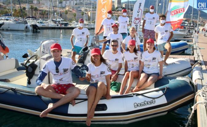 """Med' In Corse avait reçu l'an dernier le """"Coeur d'Or"""" de la Marie-Do à Ajaccio, pour ses actions de lutte contre le cancer. Photo : Michel Luccioni"""
