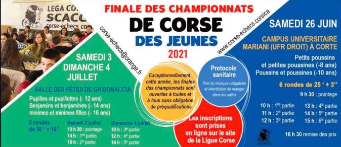 Echecs : les finales des championnats de Corse des jeunes (U8 et U10) se jouent ce samedi à Corti
