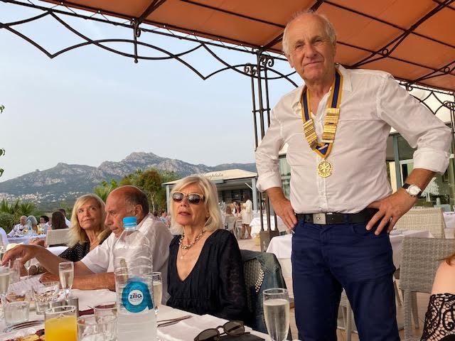 Le bureau du Rotary club Calvi-Balagne reconduit