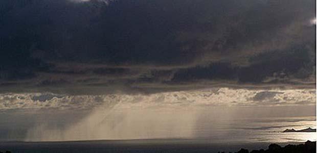 Violents orages sur le Cap Corse
