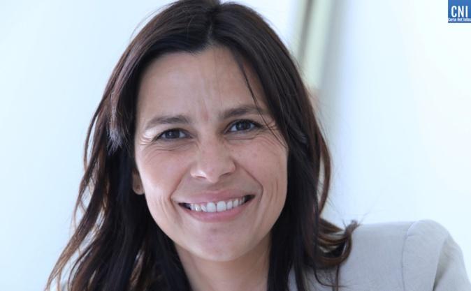 """Valérie Bozzi, maire de Grosseto-Prugna et présidente de la communauté de communes de la Piève de l'Ornano est deuxième de la liste """"Un soffiu novu"""". Photo : Michel Luccioni"""