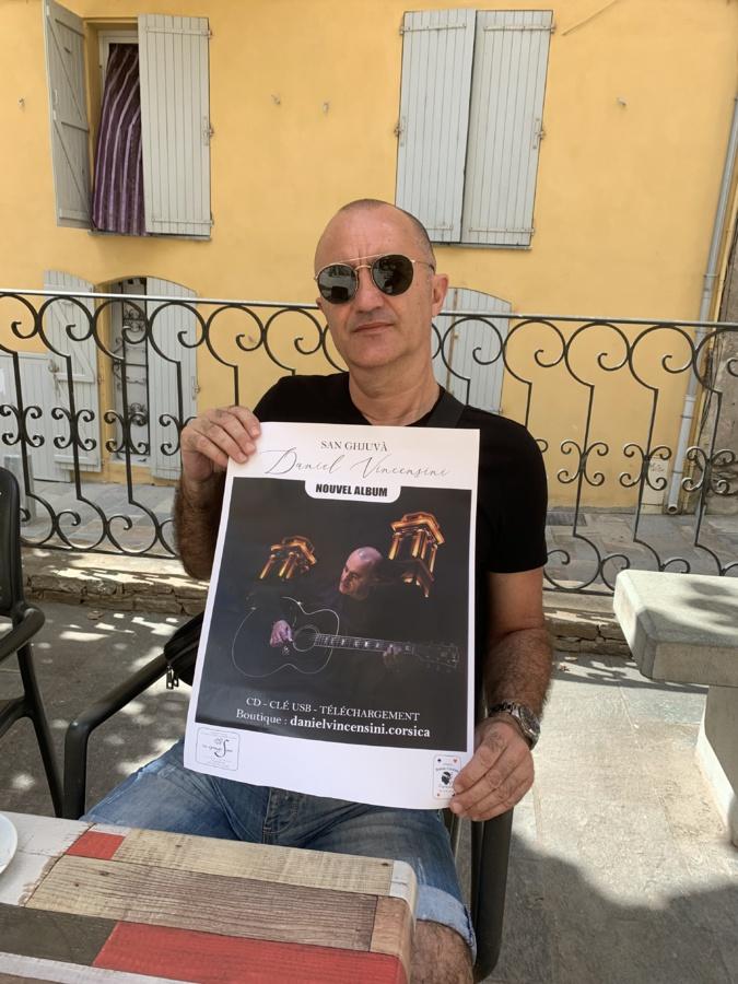 Le dernier album de Daniel Vincensini mèle humour, amour, émotion, tendresse...