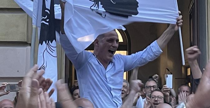 Gilles Simeoni, président du Conseil exécutif sortant, remporte les élections territoriales à la majorité absolue. Photo CNI.