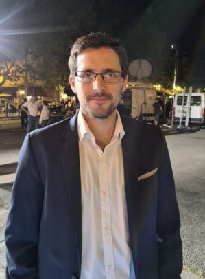 Petru Anto Tomasi, à Bastia, après les résultats.