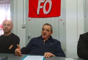 Marcel Santini au centre de la photo en 2018, archives CNI
