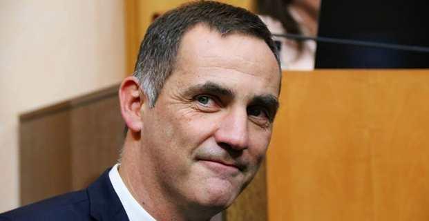 Gilles Simeoni, président de l'Exécutif sortant repart pour un troisième mandat. Photo Michel Luccioni.