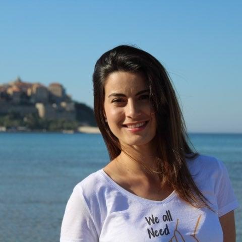 Sandra Marchetti sera la cadette de cette nouvelle Assemblée de Corse avec Don Joseph Luccioni. Crédits Photo : Sandra Marchetti