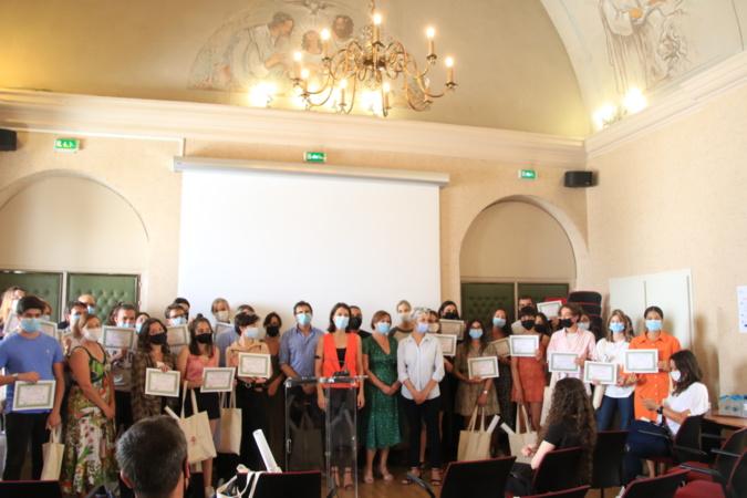 Les 34 lycéens récompensés