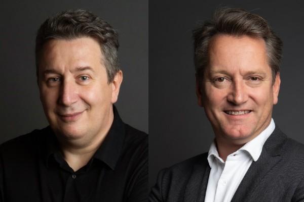 Pierre Huber et Christophe Cressend sont les fondateurs d'Agilitest.