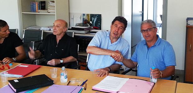 Stade de Furiani : Le CAB signe la convention