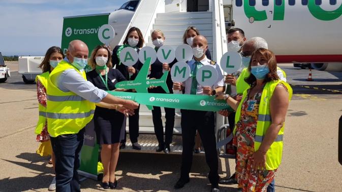 Ouverture de 3 lignes depuis Nantes, Brest et  Montpellier : Transavia arrive en force à Calvi
