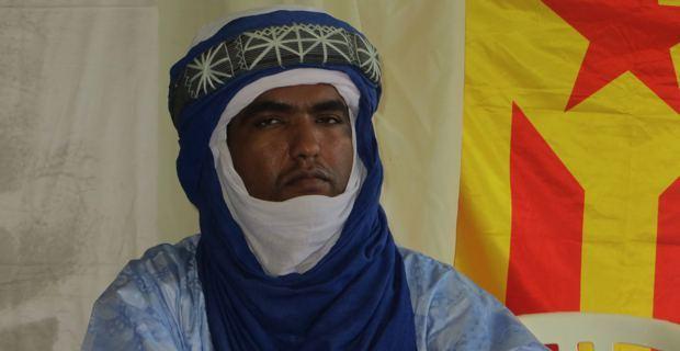 Moussa Ag Assarid, écrivain et représentant du MNLA en Europe.