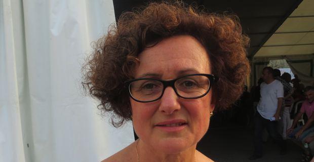 Maria Guidicelli, élue du Front de gauche et conseillère exécutive en charge de l'élaboration du PADDUC.