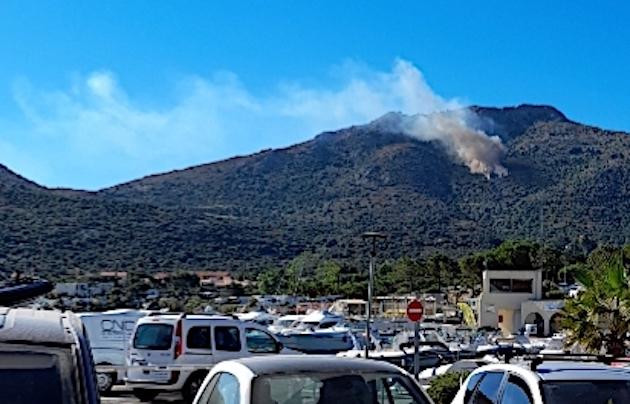 Départ d'incendie à Occi : d'importants moyens  engagés