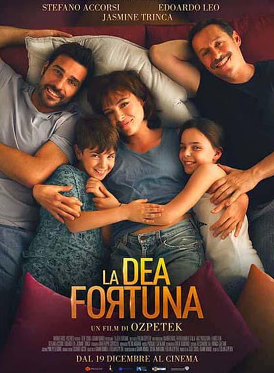 Ce jeudi 8 juillet, en avant-première nationale, le long métrage de Ferzan Ozpetek avec Stefano Accorsi et Edoardo Leo : «La dea fortuna»