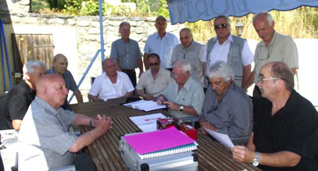 Marins anciens combattants de Corse : L'Etoile civique à Michel Cristiani