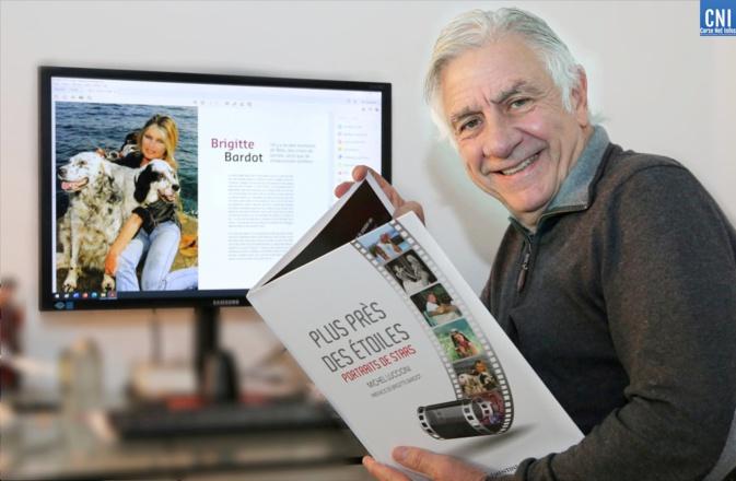 """Michel Luccioni et son dernier ouvrage """"Plus près des étoiles"""". Il sera en dédicace vendredi 9 juillet, à la librairie La Marge à Ajaccio, de 16 heures à 19 heures"""
